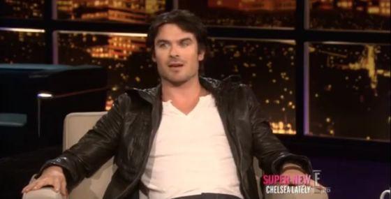 Ian Somerhalder Interview Chelsea Ian Somerhalder zu Gast bei Chelsea Lately