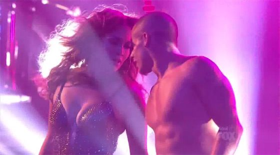 Jennifer Lopez Casper Smart American Idol Jennifer Lopez mit Dance Again bei American Idol