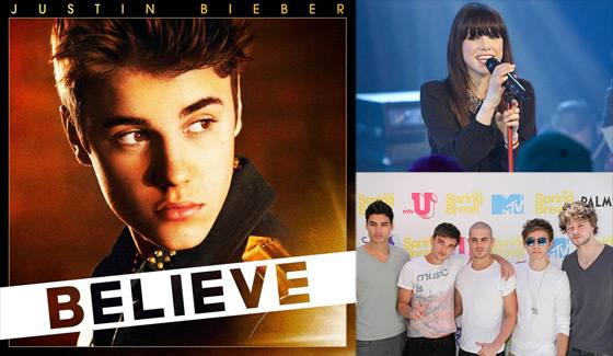 Justin Bieber The Wanted Carly Rae Jepsen Justin Bieber: Tour mit Carly Rae Jepsen und The Wanted?