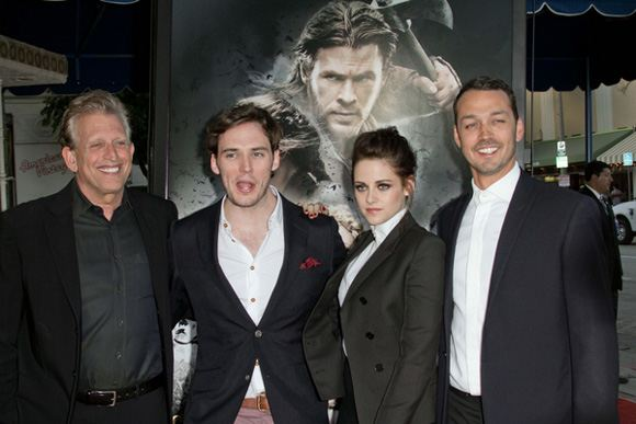 Kristen Stewart Sam Claflin Snow White Screening LA 3 Kristen Stewart: Snow White Screening in Los Angeles