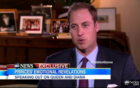Prinz William Harry ABC TV Interview Prinz William & Harry im TV Interview: Diana hätte Kate geliebt!