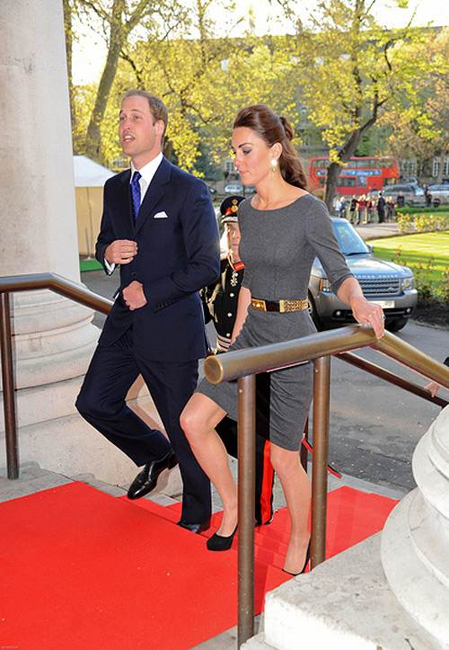 Prinz William Kate Middleton Southwark 2012 Foto