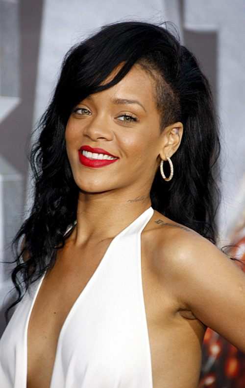 Rihanna Battleship Premiere Los Angeles 8 Rihanna: Neues Tattoo am Fuß