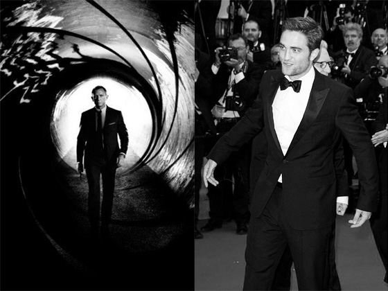 Robert Pattinson James Bond Skyfall Daniel Craig Robert Pattinson: In 20 Jahren als James Bond?