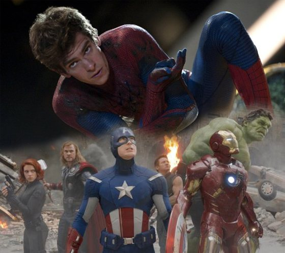 The Avengers Spider Man Andrew Garfield will Teil von The Avengers werden