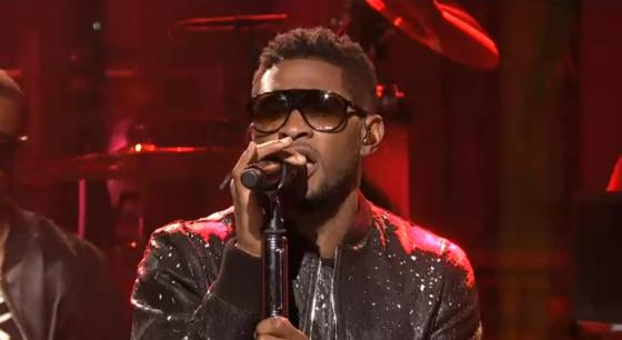 Usher Saturday Night Live Usher: Mit Scream und Climax bei Saturday Night Live