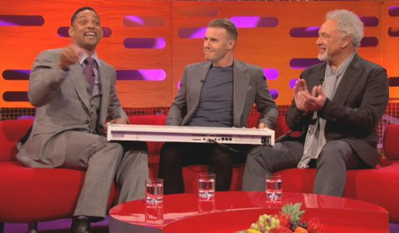 Will Smith Prinz von Bel Air Theme Graham Norton Will Smith rappt das Prinz von Bel Air Theme!