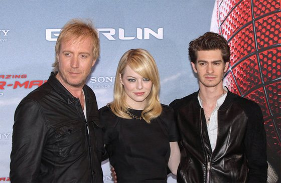 "Andrew Garfield, Emma Stone & Rhys Ifans - ""The Amazing Spider-Man"" Photocall in Berlin"