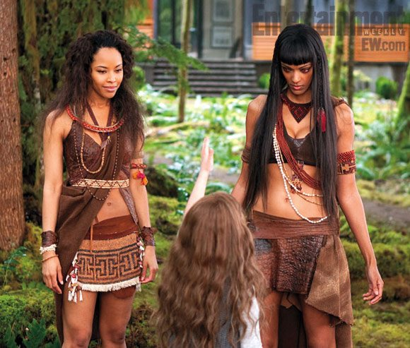 """Breaking Dawn 2"" mit Tracey Heggins (links)"