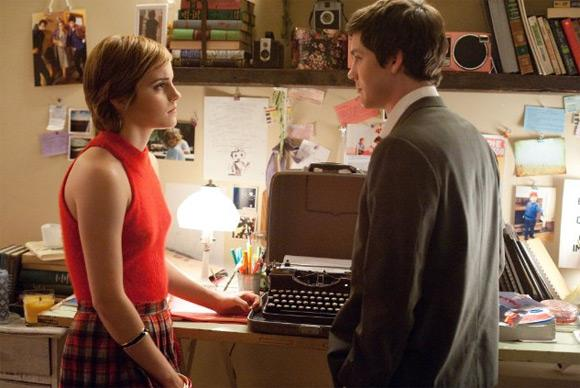 Emma Stone Perks Of Being A Wallflower Still 5 Emma Watson: Kuss Szene mit Logan Lerman war emotional