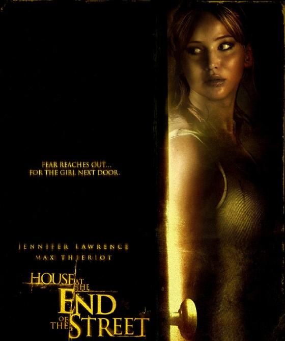 Jennifer Lawrence House at the End of the Street Poster Jennifer Lawrence: Gruseltrailer für ihren neuen Film!