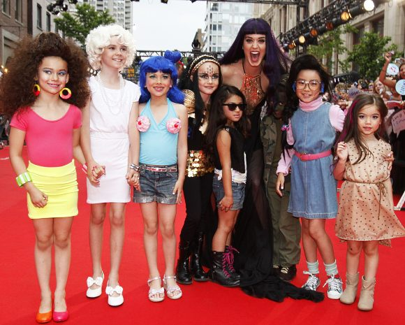 Katy Perry MuchMusic Video Awards 2012 Katy Perry mit Mini Doubles bei den MuchMusic Video Awards