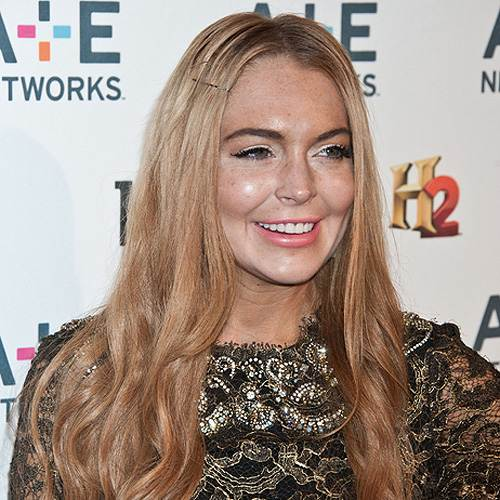 Lindsay Lohan AE Upfronts 2012 Lindsay Lohan: Rolle in Scary Movie 5?