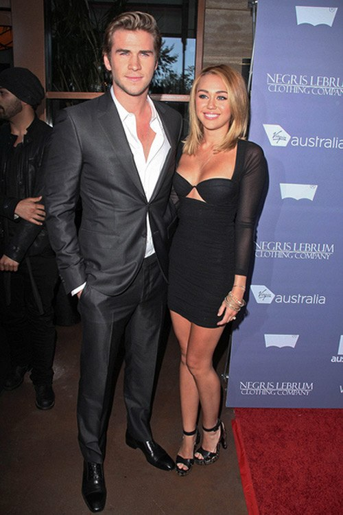 Miley Cyrus Liam Hemsworth Australians in Film Awards 2 Miley Cyrus findet australische Männer heiß