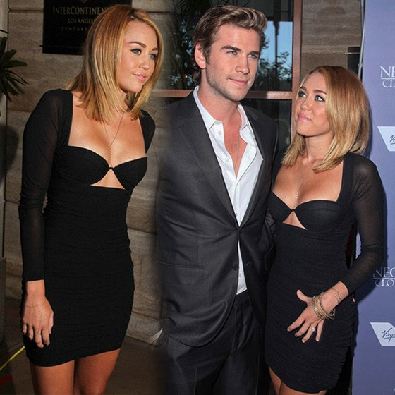 Miley Cyrus Liam Hemsworth Australians in Film Awards 560 Miley Cyrus & Liam Hemsworth: Australian Film Awards 2012
