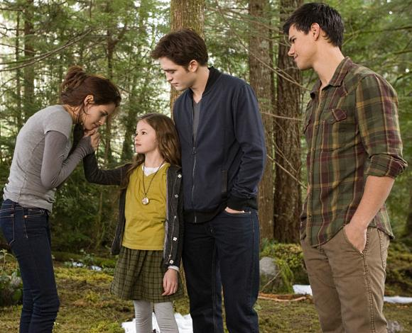 Breaking Dawn 2 Edward Jacob Bella Renesmee Robert Pattinson & Kristen Stewart: Breaking Dawn 2 Promotion in Berlin