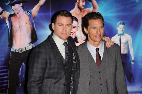 Channing Tatum Matthew McConaughey Magic Mike Premiere UK 1 Magic Mike feiert Premiere in London