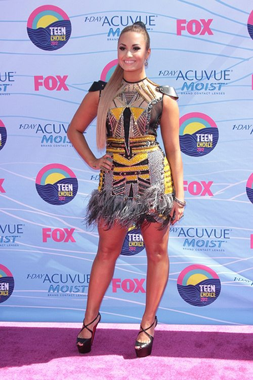 Demi Lovato bei den Teen Choice Awards 2012