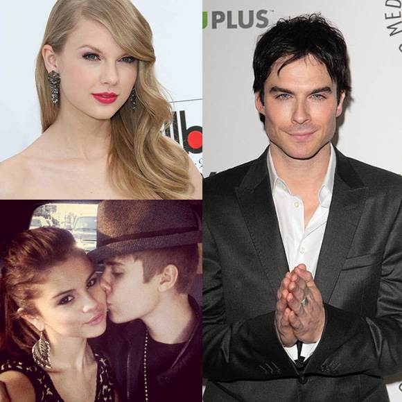 Juslena Ian Somerhalder Tazlor Swift Selena Gomez, Justin Bieber & Ian Somerhalder für Do Something Awards nominiert!