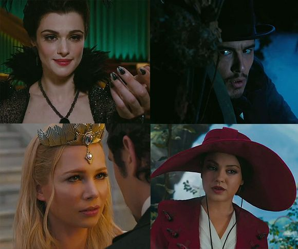 Oz Great Powerful James Franco Mila Kunis James Franco & Mila Kunis in Oz the Great & Powerful   Erster Trailer