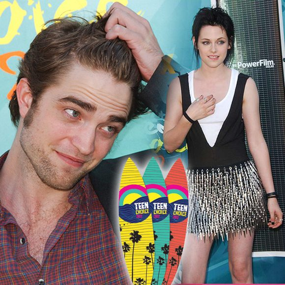 Robert Pattinson Kristen Stewart Teen Choice Awards 2012 Robert Pattinson & Kristen Stewart kommen zu den Teen Choice Awards 2012