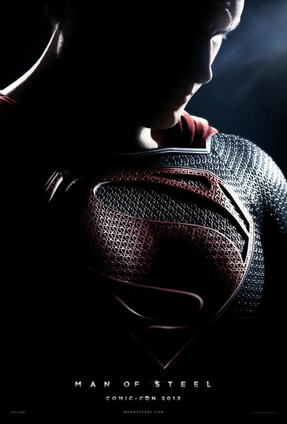 Superman Man Of Steel Poster Comic Con Superman: Man Of Steel Teaser Trailer