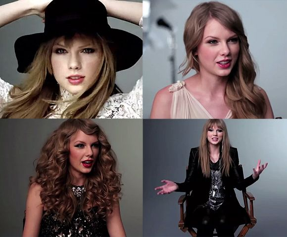 Taylor Swift Covergirl Shooting Juli 2012 Taylor Swift dreht neuen Covergirl Werbespot