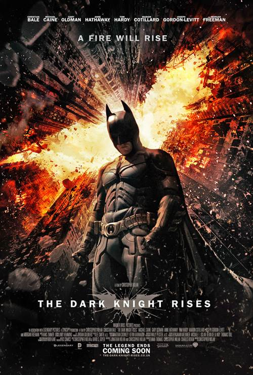 The Dark Knight Rises Poster Anne Hathaway: Statement zum Batman Blutbad