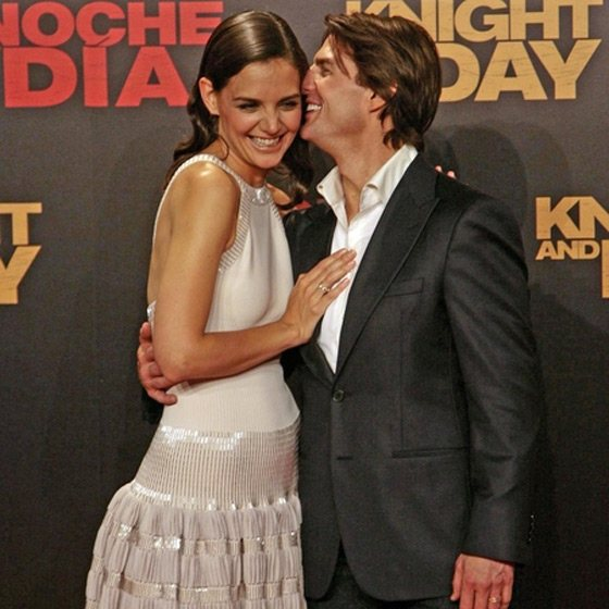 Tom Cruise Katie Holmes Knight and Day Premiere Katie Holmes ist wieder Katholikin!