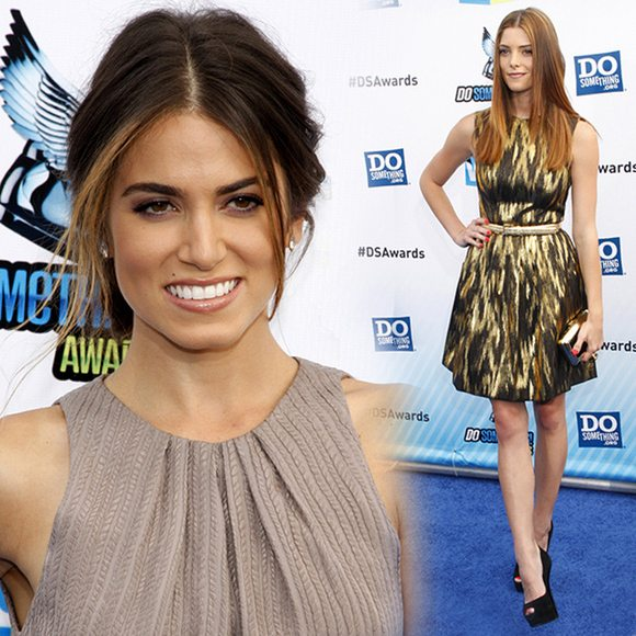 Ashley Greene Nikki Reed Do Something Awards 2012 Ashley Greene & Nikki Reed: Do Something Awards 2012