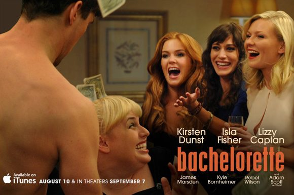 Bachelorette Poster Kirsten Dunst Kirsten Dunst in Bachelorette   Red Band Trailer!