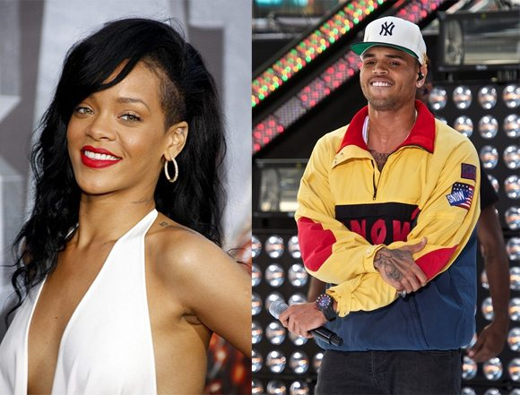 Chris Brown Rihanna Rihanna besucht Party von Chris Brown
