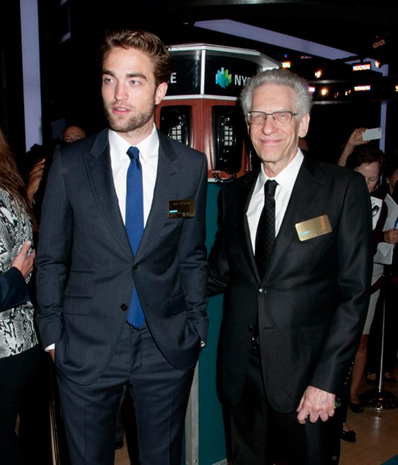 Robert-Pattinson-David Cronenberg New-York-Boerse-1