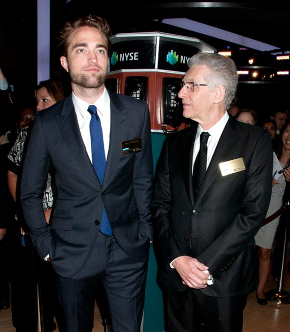 Robert Pattinson & David Cronenberg | PR Photos