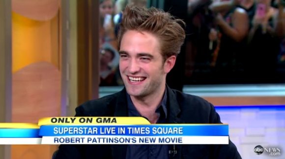 Robert Pattinson Good Morning America August 2012 Robert Pattinson bei Good Morning America: Eine Affäre und viel heißer Brei...