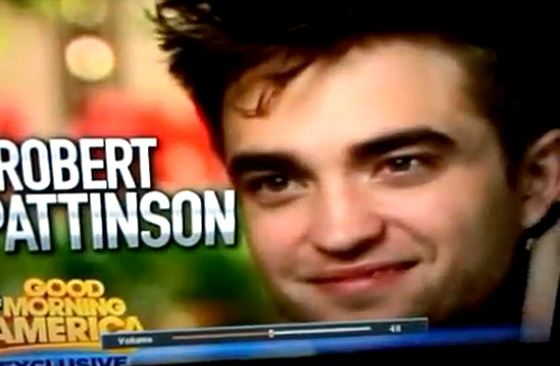 Robert Pattinson Good Morning America Teaser Robert Pattinson bei Good Morning America: Wird Kristens Affäre Thema?