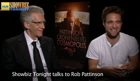 Robert Pattinson Showbiz Tonight Interview David Cronenberg Robert Pattinson findet Mitgefühl merkwürdig