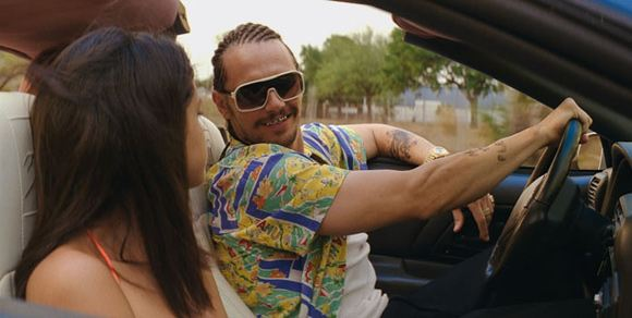 "Selena Gomez & James Franco in ""Spring Breakers"""
