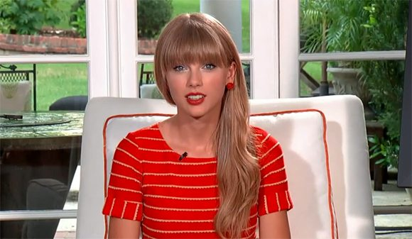 Taylor Swift im Live Chat