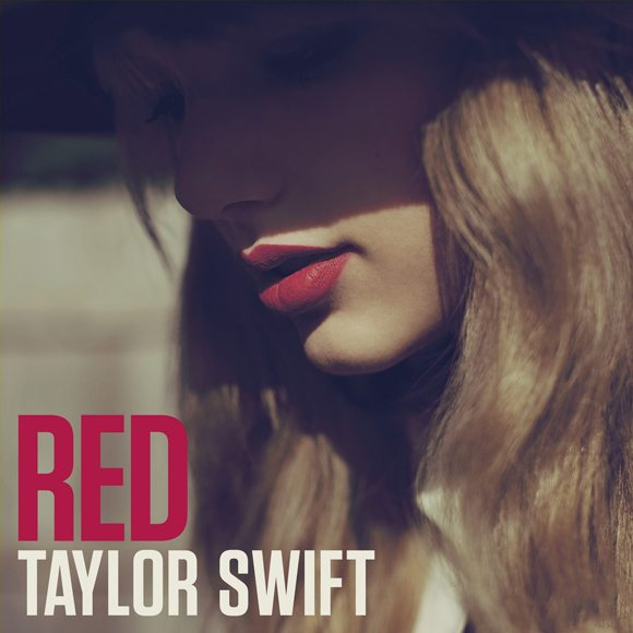 "Taylor Swift - ""Red"" Albumcover"