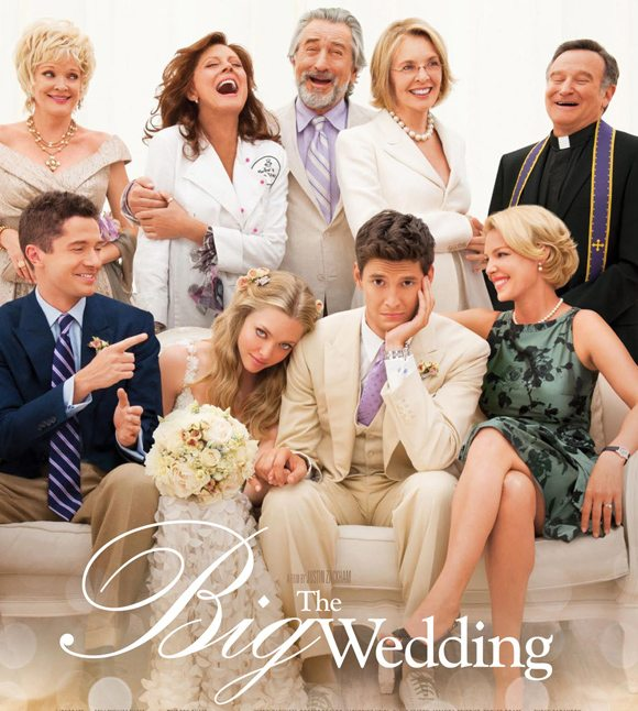 The Big Wedding Poster Katherine Heigl & Robert De Niro in The Big Wedding   Trailer!