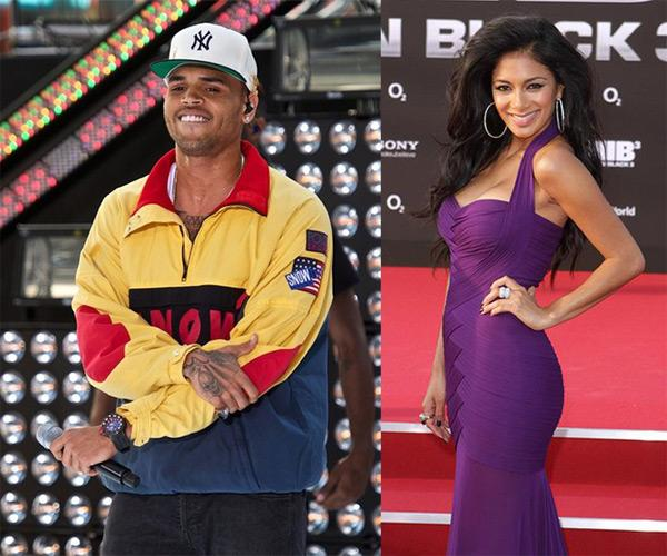 Chris Brown Nicole Scherzinger Chris Brown: Turtelei mit Nicole Scherzinger?