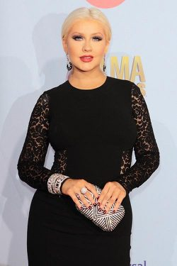 Christina Aguilera Alma Awards 3 250x375 Christina Aguilera war ihrem Label nie zu fett