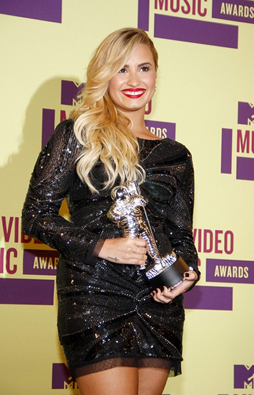 Demi Lovato bei den MTV Video Music Awards 2012