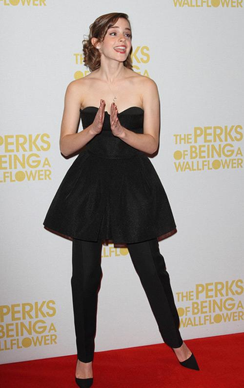 "Emma Watson: ""The Perks of Being a Wallflower"" London Screening"