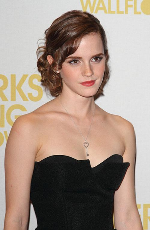 Emma Watson Perks of Being a Wallflower Screening London 3 Emma Watson: Ich war dazu bestimmt, Hermine Granger zu spielen