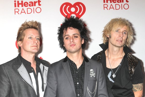 Green Day Billie Joe Armstrong iHeartRadio Festival Green Day Frontmann Billie Joe Armstrong hatte Alkohol Rückfall