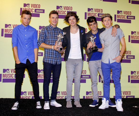 One Direction MTV Video Music Awards 2012 6 One Direction: Stinkreich nach nur zwei Jahren