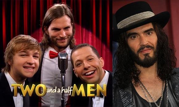 Two and a Half Men Russell Brand Russell Brand: Unerwartete Gastrolle bei Two and a Half Men