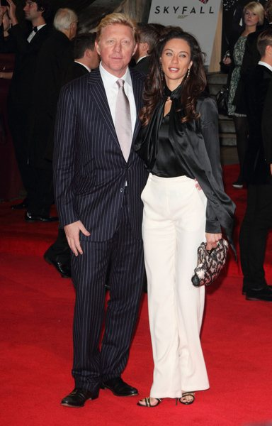 Boris-Becker-Lilly-Skyfall-Weltpremiere-London